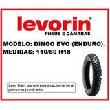 Cubierta Levorin 110/80 R18 Dingo Evo (enduro)