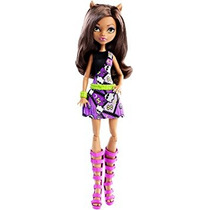 Juguete Monster High Clawdeen Lobo Muñeca W1