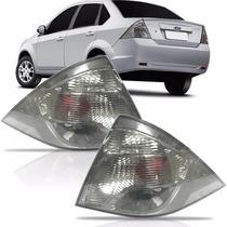 Lanterna Fiesta Sedan Fumê 2010 2011 2012 2013 Ld