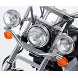 Soporte Universal Para Faros Adicionales Motos Custom Choper