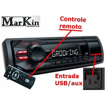 Radio Para Carro Entrada Pendriver Fm Sony Xplod Aux 50w