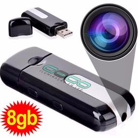 Pendrive Espião 8gb Camera Sensor Grava Voz Frete Grat I 010