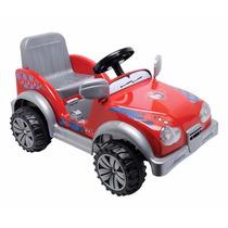 Jeep Spiderman Bateria 6v Electrico Nuevo!