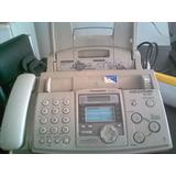 Telefono Fax Marca Panasonic (con Fascimil De Papel Comun)