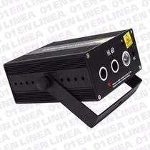 Laser Color Efecto Dj Audioritmico C/luz Negra Led 100mw
