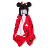 Toalla De Baño Con Capucha Disney Minnie