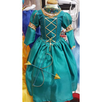 Vestido Princesa Merida Valiente Nupcialesdliz