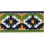 Azulejos -guardas-mayolicas Patio Español En Relieve
