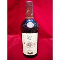 Antigua Botella De Ron El Abuelo Made In Panama Coleccion