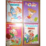 Turma Da Mônica Kit Com 4 Revistas De Colorir Kit 06