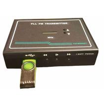 Transmissor De Fm Pll Estéreo, 1 W, Tx890 Com Usb Lançamento