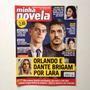 Revista Minha Novela Bábara Paz Juliana Paes Sidney Sampaio