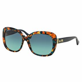 Lentes Gafas Coach Teal Confetti 0hc8158 53374s Original