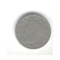 Moneda De Estados Unidos 5 Centavos Año 1907