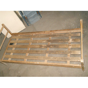 Cama de pino una plaza camas 1 todo para tu dormitorio for Cama de una plaza precio