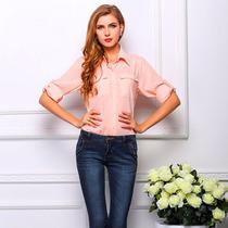 Camisa Blusa Mujer - Moda 2017 - Dif. Modelos Y Colores !