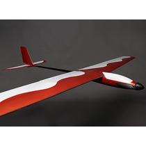 Planador Epoxi Glider 1410mm Pronto Pra Voar - Furia Hobby