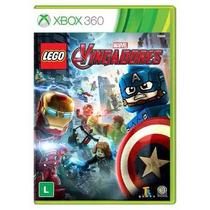 Lego Marvel Vingadores Avengers Xbox 360 Mídia Física Novo!