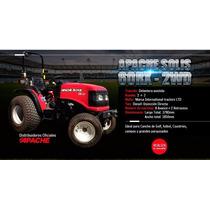 Tractor Apache-solis Rodado Parquero