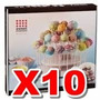 10 X Atriles Porta Cake Pop Y Cup Cake 3 Psiso Altura 24cm