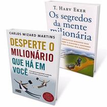 Livros Segredos Mente Milionária + Desperte Milionário Você