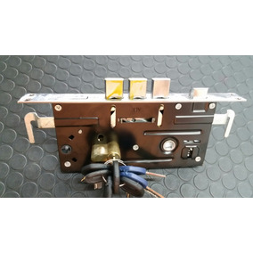 Cerradura Para Puerta 60mm Con Cilindro 7 Llaves
