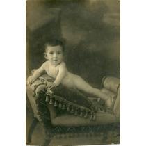 Foto Estudio Bebe Antigua Fotografia Niño