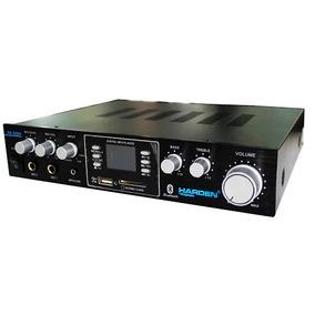 Amplificador Estereo Usb Sd Mp3 5ch Bluetooth Hogar Karaoke