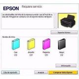 Reset De Almohadillas Epson T50