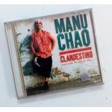 Cd Manu Chao Clandestino 1998 Industria Argentina