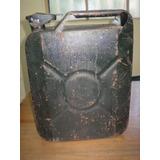 Bidón De Nafta Invicta Ind. Arg. Antiguo Jeep O Adorno (402)