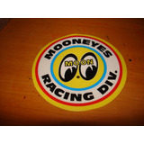 Adesivo Interno Mooneyes Vw Fusca Hot Rod California Racing