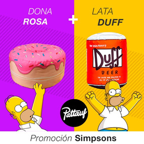 Combo Puffs Los Simpsons - Pattauf - Dona + Duff