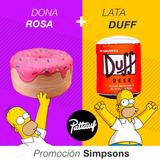 Combo Puffs Los Simpsons - Pattauf - Dona + Duff