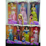 Princesas Muñecas Bella Aurora Jazmin Rapunzel Ariel Gabym