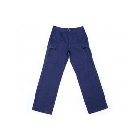 Pantalon Cargo 6 Bolsillos Ropa De Trabajo Seguridad Azul 48