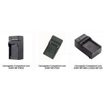 Carregador Bateria Camera Sony Np-f550, Np-bn1,np-fw50
