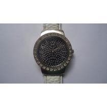 Relógio Monte Carlos Analogo Luxo Feminino