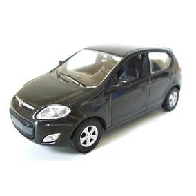 Miniatura Em Metal Novo Fiat Palio Preto 1:43 Norev