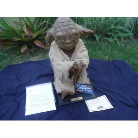 Star Wars Yoda Boneco 1:1 Tamanho Real Certificado 7474/9500