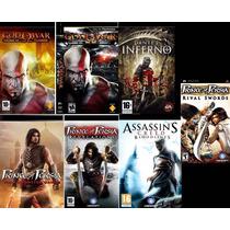 God Of War+dante´s Inferno+prince+assassins Creed Para Psp