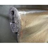 Manta De Alumínio E Feltro Sem Betume 90 Cm X 1,10 Mts