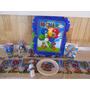 Cumpleaños Personalizado Mario Bros Decokit