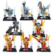 Set De Chima Jx1006 Spinlyn Eris Laval Compatible Con Lego