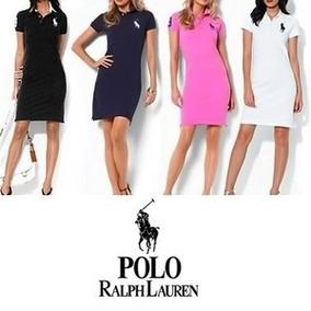 Kit C/20 Vestidos Polo Ralph Lauren Malha Piquet