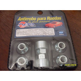 Tuercas Antirrobo Ford F 100 Llanta De Chapa Original