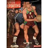 Mundo Deportivo * Basquet Hugo San Miguel* N° 362 Año 1956