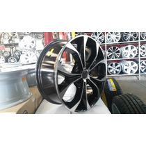 Jogo Rodas Civic Aro17 4x100 Gol Palio Fit City +pneus Novos