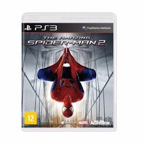 Homem Aranha Amazing Spider Man 2 Ps3 Mídia Física Pt Brinde