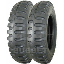 02 Pneus 6.00-16 Pirelli Miltar P/ Jipe Willys Ford Jeep Cj5